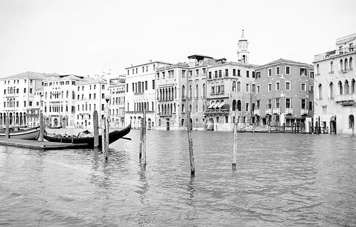 Venedig Schwarzweiß